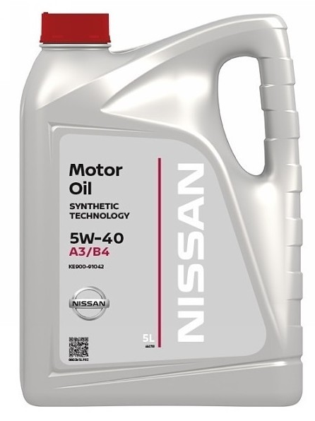 Моторное масло Nissan 5W-40 FS A3/B4, 5л