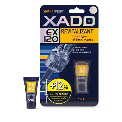XADO Revitalizant EX120 для всех типов дизельных двигателей 9мл