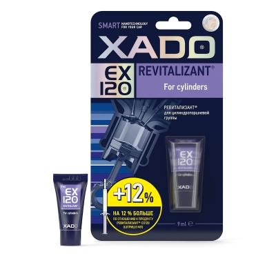 XADO Revitalizant EX120 для цилиндропоршневой группы (туба в блистере) 9мл