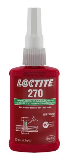 LOCTITE Фиксатор резьбы 270 (высокий) (50мл)