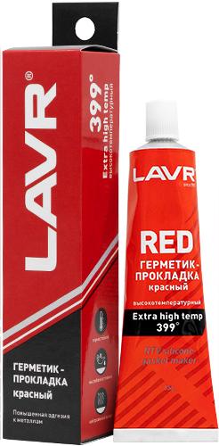 LAVR Герметик-прокладка красный высокотемпературный RED (85г)