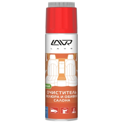 LAVR Пенный очиститель велюра и обивки (650мл)
