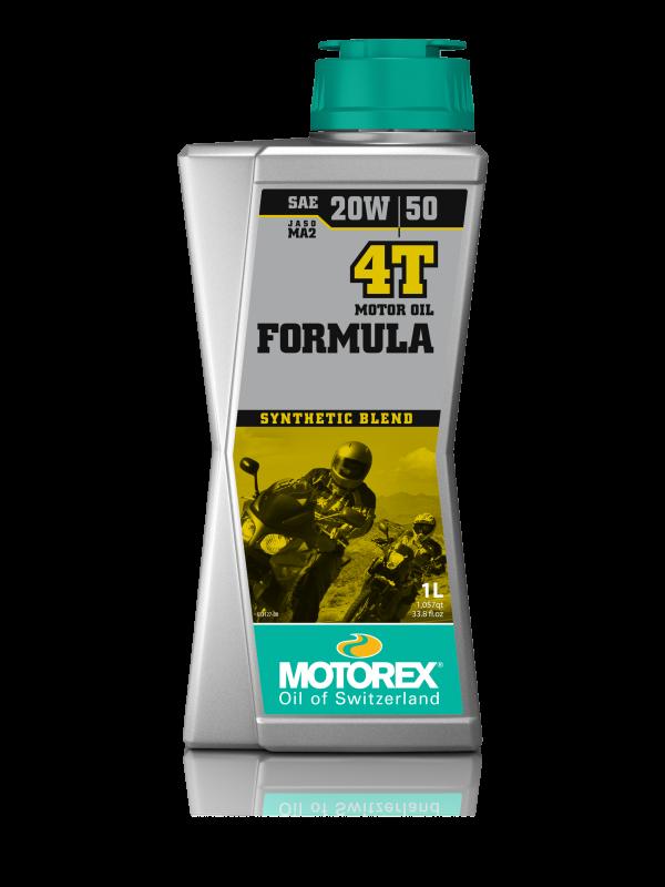 Масло моторное MOTOREX FORMULA 4T SAE 20W-50, 1л