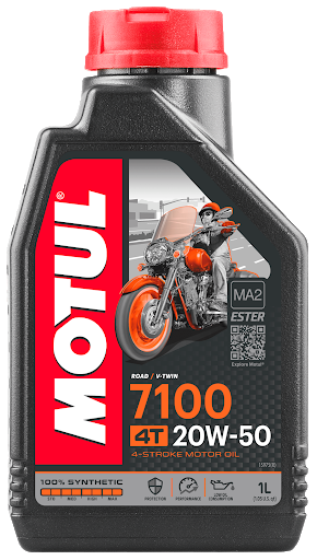 Масло моторное Motul 7100 4Т 20W-50, 1л