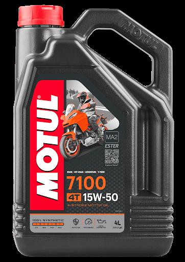 Масло моторное Motul 7100 4T 15W-50, 4л