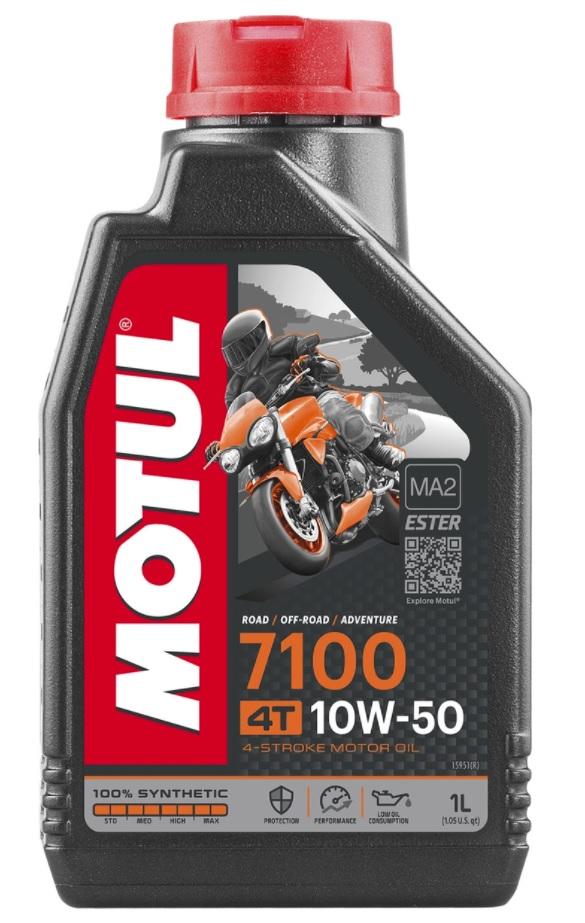 Масло моторное Motul 7100 4T 10W-50, 1л