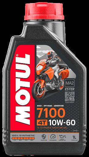 Масло моторное Motul 7100 4T 10W-60, 1л