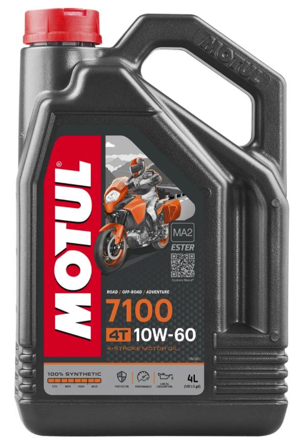 Масло моторное Motul 7100 4T 10W-60, 4л