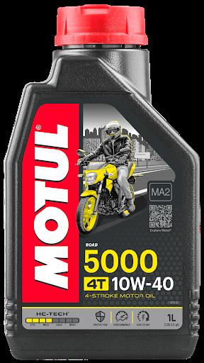 Масло моторное Motul 5000 HC-Tech 4T 10W-40 (1л)
