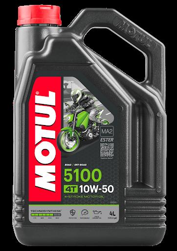 Масло моторное Motul 5100 4T 10W-50, 4л