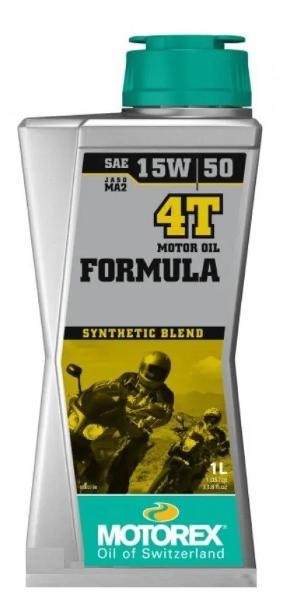 Масло моторное MOTOREX FORMULA 4T SAE 15W-50, 1л
