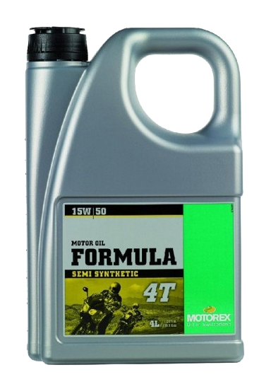 Масло моторное MOTOREX FORMULA 4T SAE 15W-50, 4л