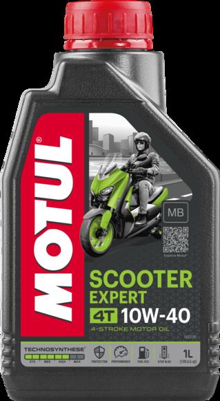 Масло моторное Motul SCOOTER EXPERT 4T MA 10W-40, 1л